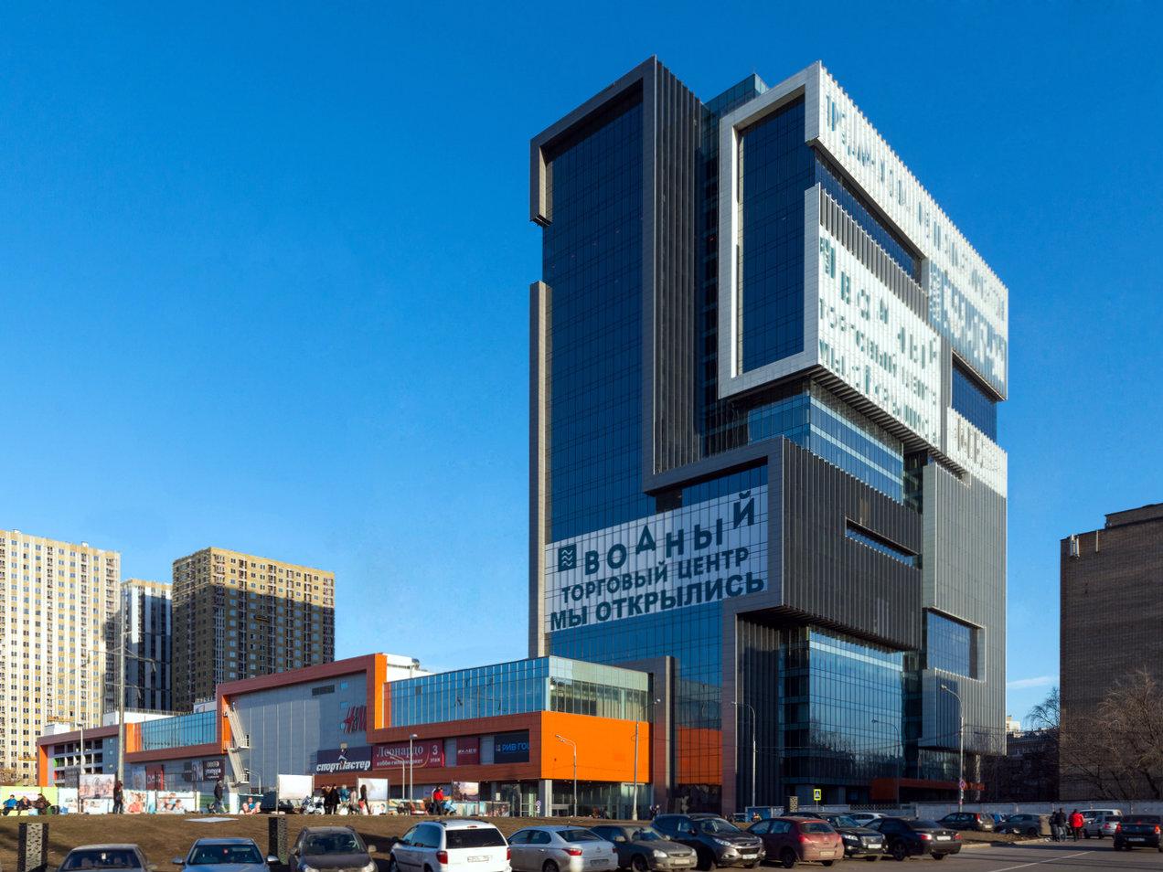 Водный ТЦ официальный лауреат премии 100 лучших торговых центров России 2016 0c3c720ae5c